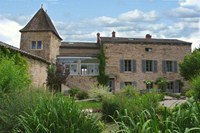 guest house source des fees fuisse burgundy france